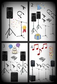 Be your own Dj at your party by hiring a great sound system to play music through