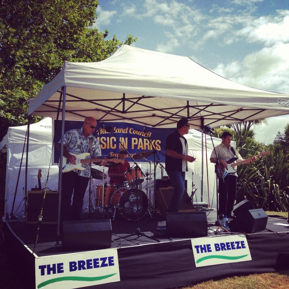 Music in Parks - Small Covered Stage