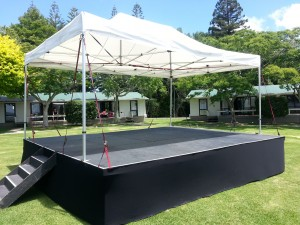 6 x 4.8 stage at 90 cm height